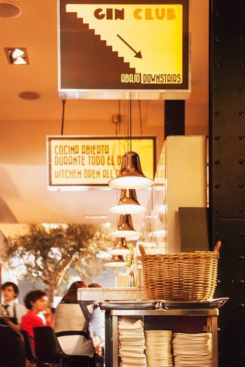 sitios para cenar en el centro de madrid